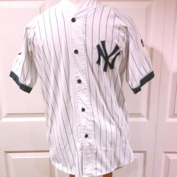 fbaaef45c New York Yankees Jersey Large Short Sleeve Vintage.  M_5ae73e4c50687c4e129708f9